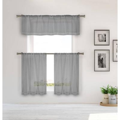 84 In. Complete Window Curtain Set 38 In (View 6 of 44)