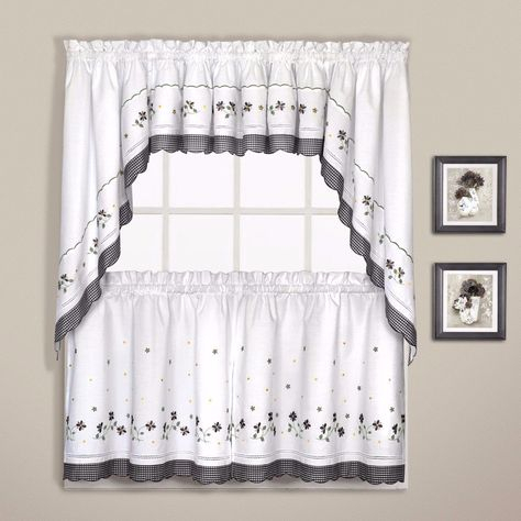 89 Best Kitchen & Tier Curtains Images | Tier Curtains Intended For Glasgow Curtain Tier Sets (View 4 of 30)