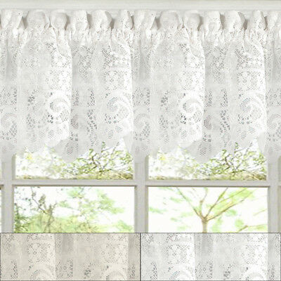 "Adirondack Cotton Kitchen Window Curtains – 12"" X 60 Inside Cotton Classic Toast Window Pane Pattern And Crotchet Trim Tiers (View 9 of 50)"