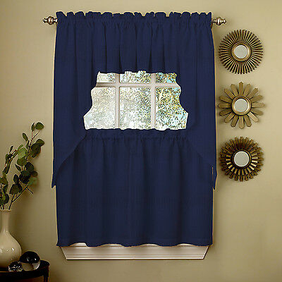 Adirondack Cotton Kitchen Window Curtains – Toast – Tiers In Cotton Classic Toast Window Pane Pattern And Crotchet Trim Tiers (View 15 of 50)