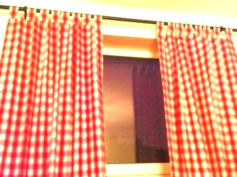 Adorable Country Style Red Kitchen Curtains Kitchenaid Intended For Red Primitive Kitchen Curtains (View 1 of 30)
