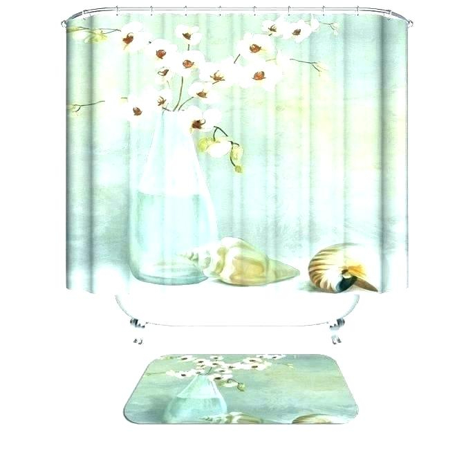 Adorable Fabric Shower Curtain Sets Marvelous Model Interior With Classic Kitchen Curtain Sets (View 6 of 50)