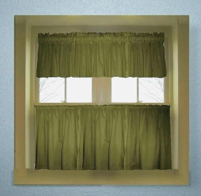 Affordable Hunter Green Curtains – Douside Throughout Lemon Drop Tier And Valance Window Curtain Sets (View 29 of 30)