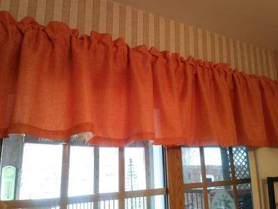Aiking Home Pure 100% Faux Linen Window Valance – Size 56 For Hudson Pintuck Window Curtain Valances (View 2 of 30)