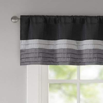 "Andover Mills Liesel Pintuck 50"" Window Valance 