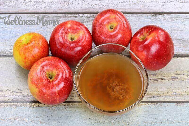 Apple Cider Vinegar Recipe With The Mother Within Apple Orchard Printed Kitchen Tier Sets (View 3 of 50)