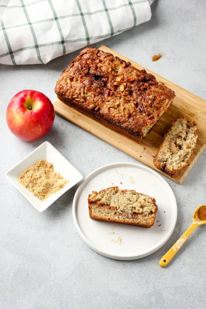Apple Cinnamon Bread – I Heart Vegetables With Apple Orchard Printed Kitchen Tier Sets (View 5 of 50)