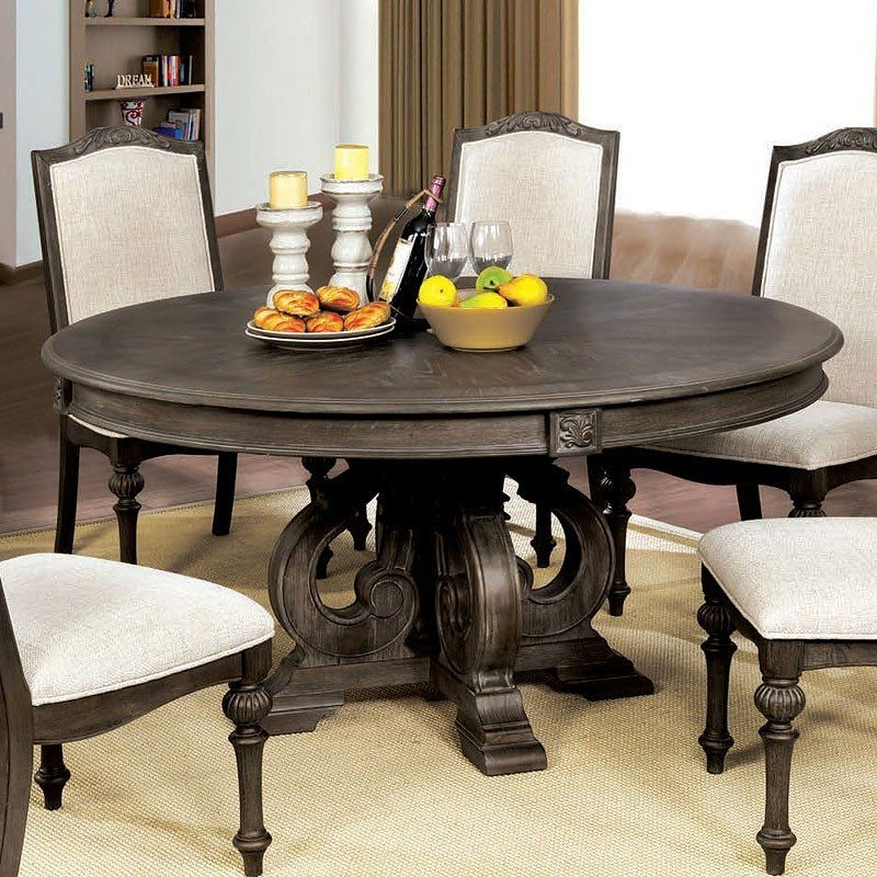 Arcadia Round Dining Table In  (#3 of 30)