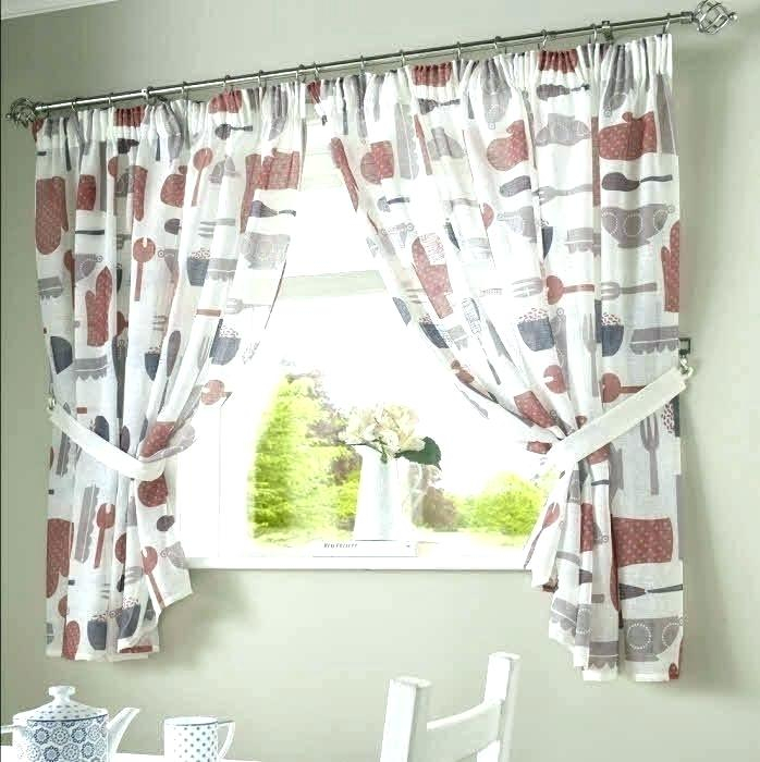 Astonishing Kitchen Curtains Designs Images Stunning For Red Rustic Kitchen Curtains (#3 of 30)