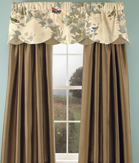 Aviarycountry Curtains | Well Dressed Windows Pertaining To Aviary Window Curtains (View 13 of 30)