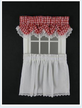 Balloon Valance – Tier Curtain : Designing Ways, Dollhouse Pertaining To Tailored Valance And Tier Curtains (#4 of 50)