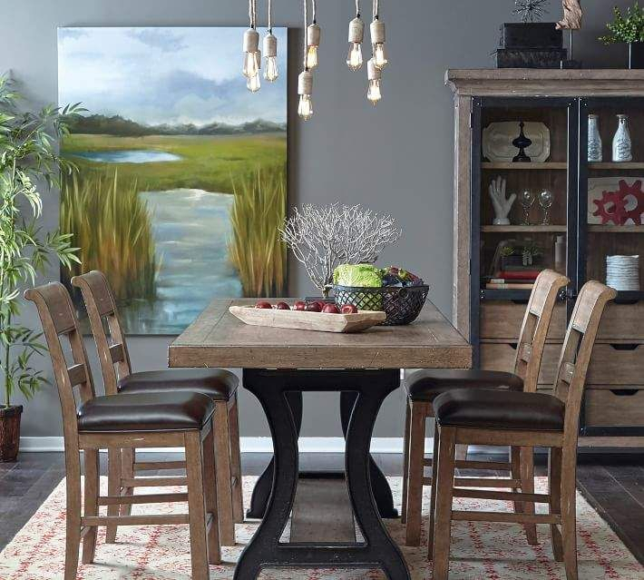 Popular Photo of Lucy Bar Height Dining Tables
