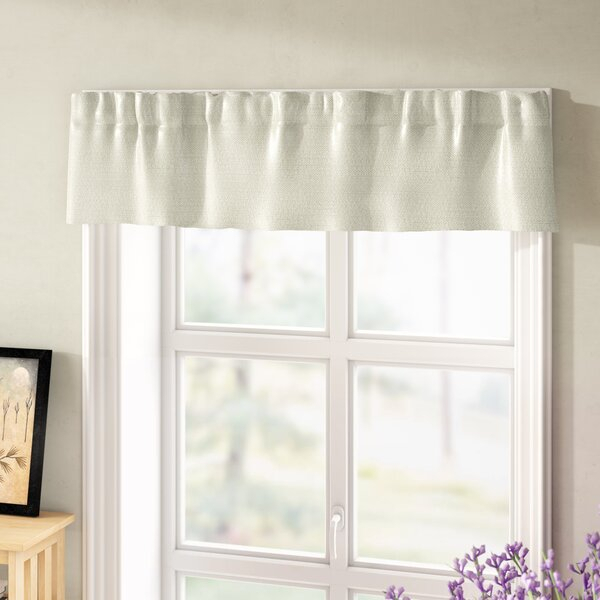 Basement Window Curtains Short | Wayfair Intended For White Tone On Tone Raised Microcheck Semisheer Window Curtain Pieces (#15 of 46)