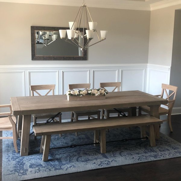 Inspiration about Benchwright Extending Dining Table, Blackened Oak (#3 of 20)