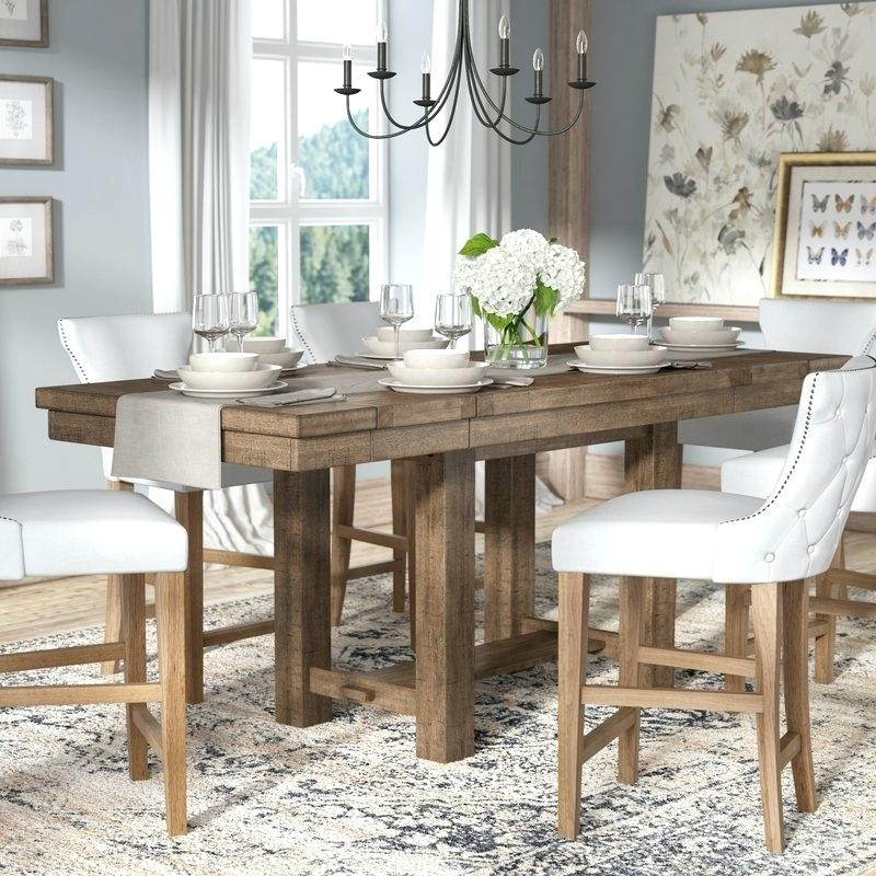Best And Newest Dining Table Rectangular – Irenelopezassor Throughout Modern Farmhouse Extending Dining Tables (#6 of 30)
