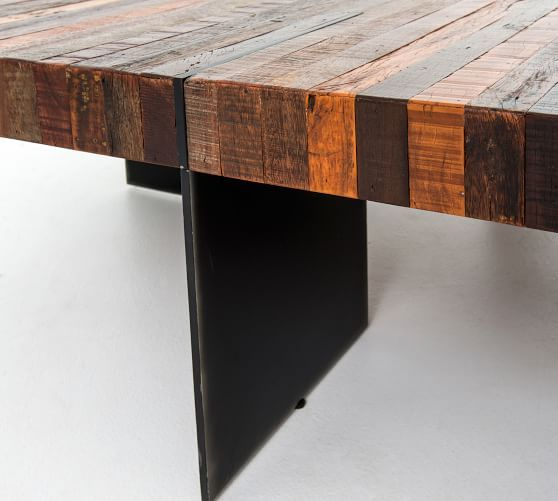 Popular Photo of Langton Reclaimed Wood Dining Tables