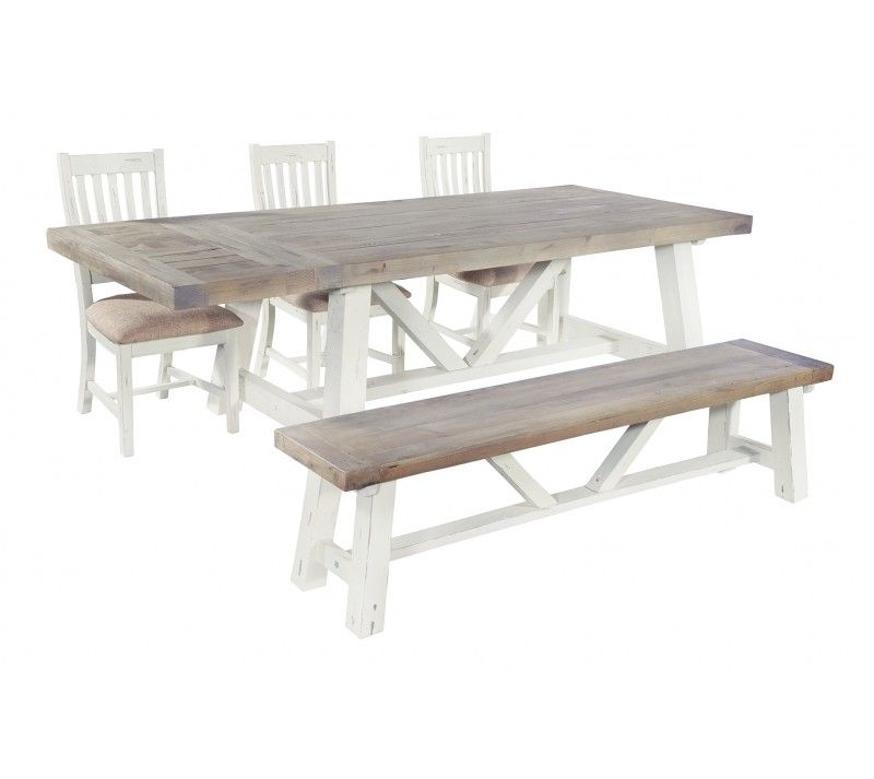 Best And Newest Langton Reclaimed Wood Dining Tables With Langton End Extending Dining Table – Style Our Home (#3 of 30)