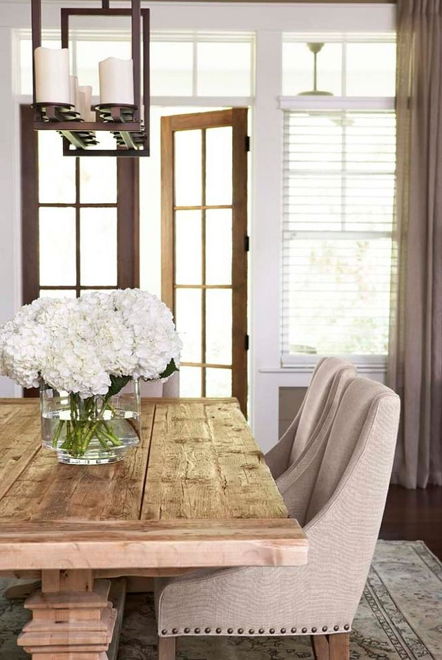 Best Restoration Hardware Style Farmhouse Dining Tables Intended For Trendy Parkmore Reclaimed Wood Extending Dining Tables (#4 of 30)