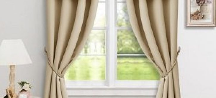 Best Room Darkening Window Valances – Recipes With More Pertaining To Solid Microfiber 3 Piece Kitchen Curtain Valance And Tiers Sets (#6 of 50)