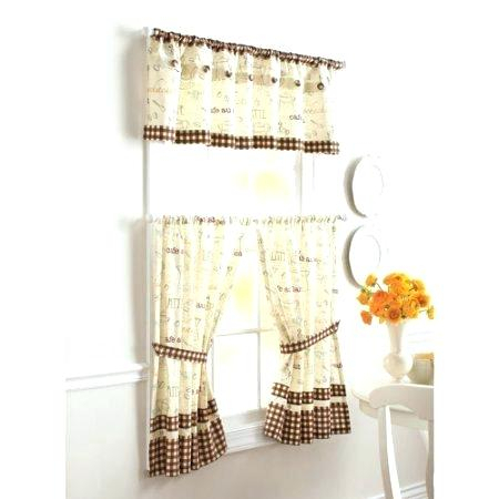 Better Homes And Gardens Valances – Ironhorseinn Intended For Embroidered 'Coffee Cup' 5 Piece Kitchen Curtain Sets (View 8 of 30)