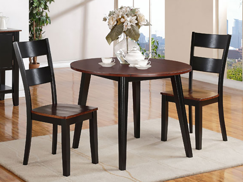Black Shayne Drop Leaf Kitchen Tables With Well Known Charles Black Drop Leaf Collectionholland House (View 12 of 20)