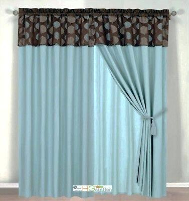 Blue And Brown Window Valance – Rafaeltapias (#5 of 46)