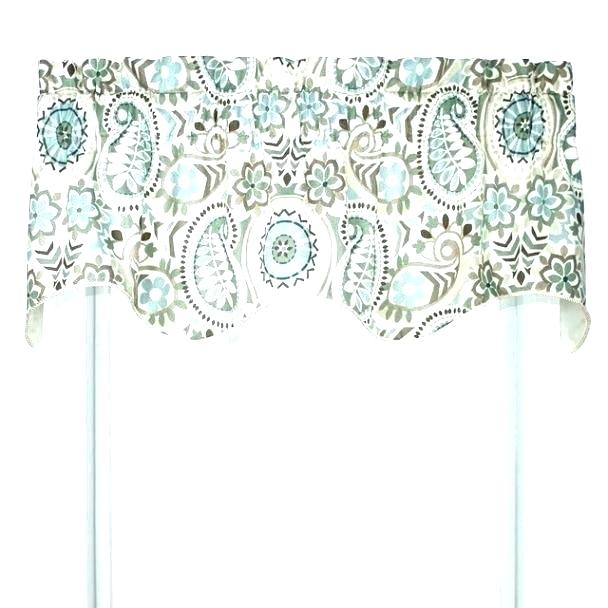 Blue And Brown Window Valance – Rafaeltapias (#6 of 46)