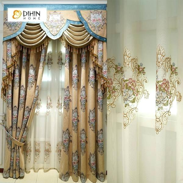 Blue And Brown Window Valance – Rafaeltapias (View 14 of 46)