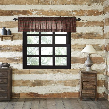 Popular Photo of Red Rustic Kitchen Curtains