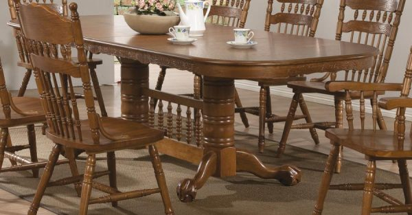 Brooks Dining Table 104271coaster In Famous Brooks Dining Tables (View 6 of 20)