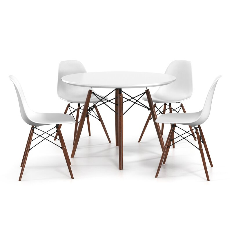 Brooks Dining Tables Within 2019 Brook 3 Piece Dining Set (View 20 of 20)