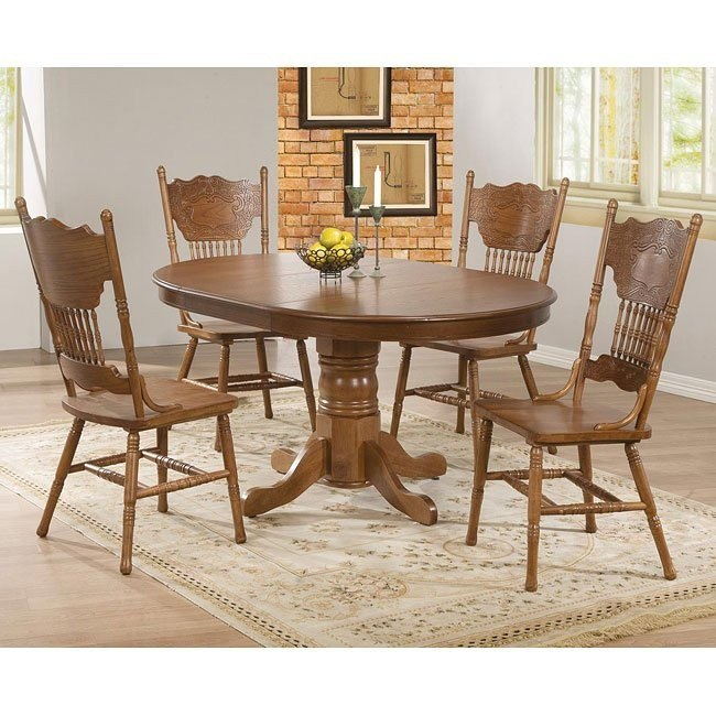 Brooks Round Dining Room Set Throughout Recent Brooks Round Dining Tables (#2 of 30)