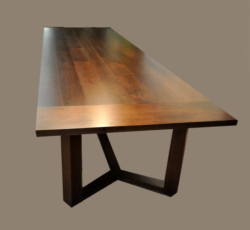 Brooks Round Dining Tables For Widely Used Wood Table Base Delightful Custom Photo Gallery Brooks Angle (#4 of 30)