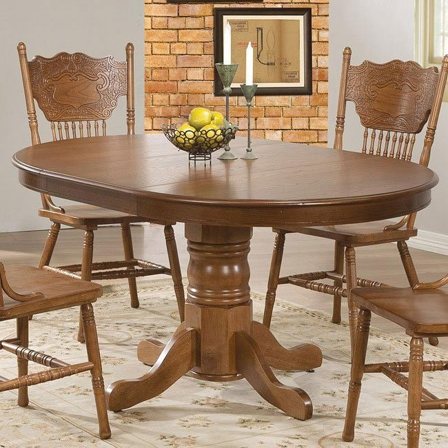 Brooks Round/ Oval Dining Table Intended For Most Popular Brooks Round Dining Tables (#11 of 30)