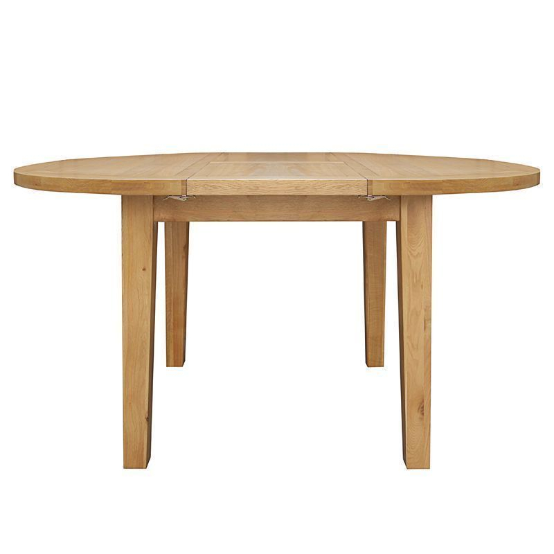 Brown Wash Livingston Extending Dining Tables Throughout Newest Cotswold Extending Dining Table Oak 2/4 Seater (#5 of 20)