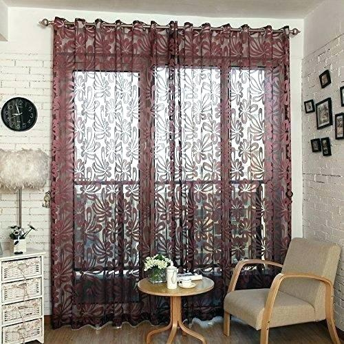 Burgundy Kitchen Curtains – Worldwidetours (#11 of 50)