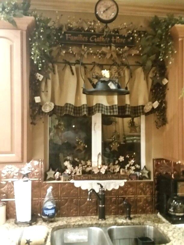 Burlap Country Kitchen Curtains Pinterest Valances Sack Diy Pertaining To Farmhouse Kitchen Curtains (View 5 of 50)