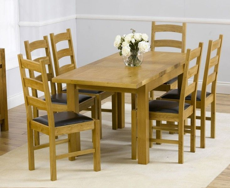 Buy The Normandy 120Cm Solid Oak Extending Dining Table With Inside Best And Newest Normandy Extending Dining Tables (#2 of 30)