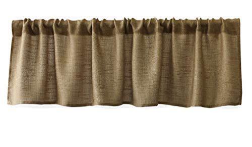 Buy Valances Tiers, Swags & Valances Online | Home & Garden Pertaining To Grandin Curtain Valances In Black (View 7 of 30)