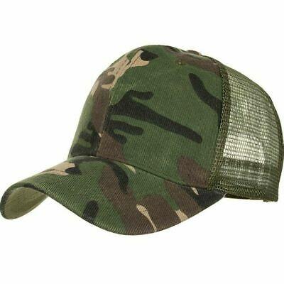 Camouflage Mesh Trucker Cap For Men – Camo Plain Mesh Trucker Hat  Adjustable | Ebay With Porch & Den Park Point Blush 24 Inch Tier Pairs (#2 of 30)