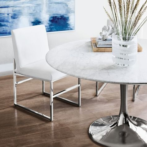 Chapman Marble Oval Dining Table With Most Recently Released Chapman Marble Oval Dining Tables (View 23 of 30)