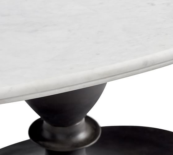Chapman Marble Oval Dining Tables With Famous Chapman Marble Oval Dining Table In (View 4 of 30)
