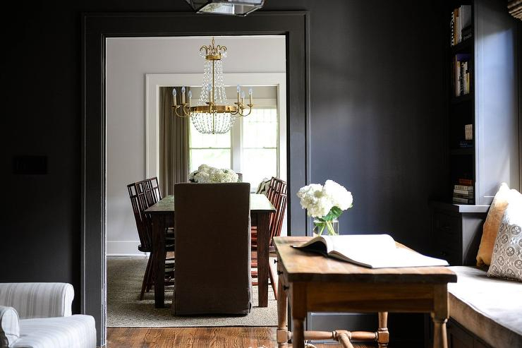 Chapman Marble Oval Dining Tables Within Trendy Brass Paris Flea Market Chandelier With Wood Dining Table (View 12 of 30)
