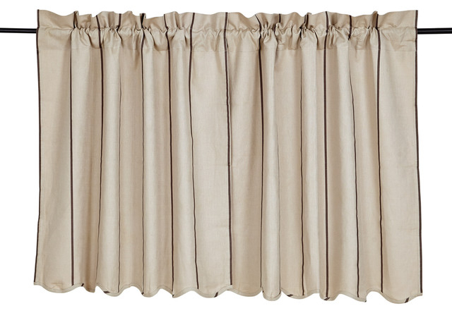 Charlotte Slate Scalloped Tier, 36X36, Set Of 2 With Regard To Cotton Blend Ivy Floral Tier Curtain And Swag Sets (View 11 of 30)