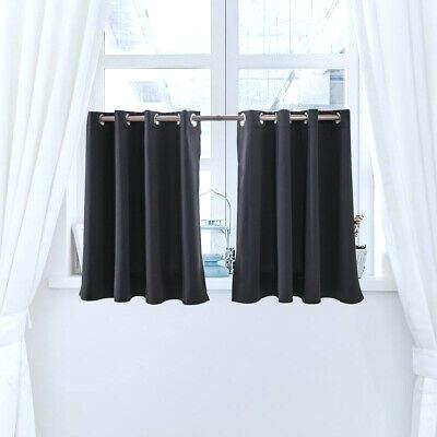 Charming Short Curtains For Kitchen Design Buy Gray Curtain With Regard To Semi Sheer Rod Pocket Kitchen Curtain Valance And Tiers Sets (View 33 of 50)