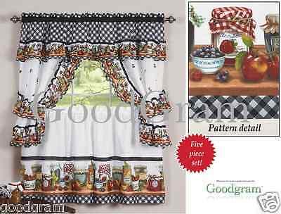 "Chateau Kitchen Curtain Cottage Set 24""l X 56""w – $ (View 9 of 30)"