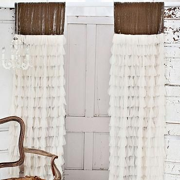 Chichi Petal Curtain With Velvet Header | Windows | Curtains Intended For Grandin Curtain Valances In Black (View 9 of 30)