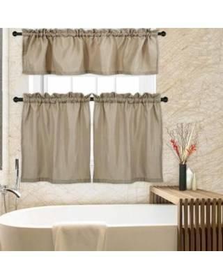 Classy Bathroom Tier Curtains – Fahreddin (View 48 of 50)