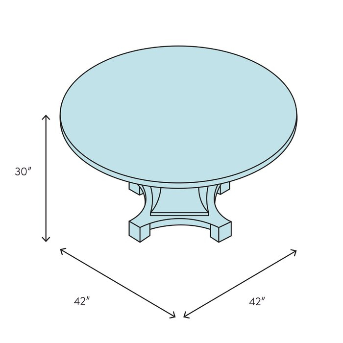 Clyde Solid Wood Dining Table Within Favorite Clyde Round Bar Tables (#9 of 20)