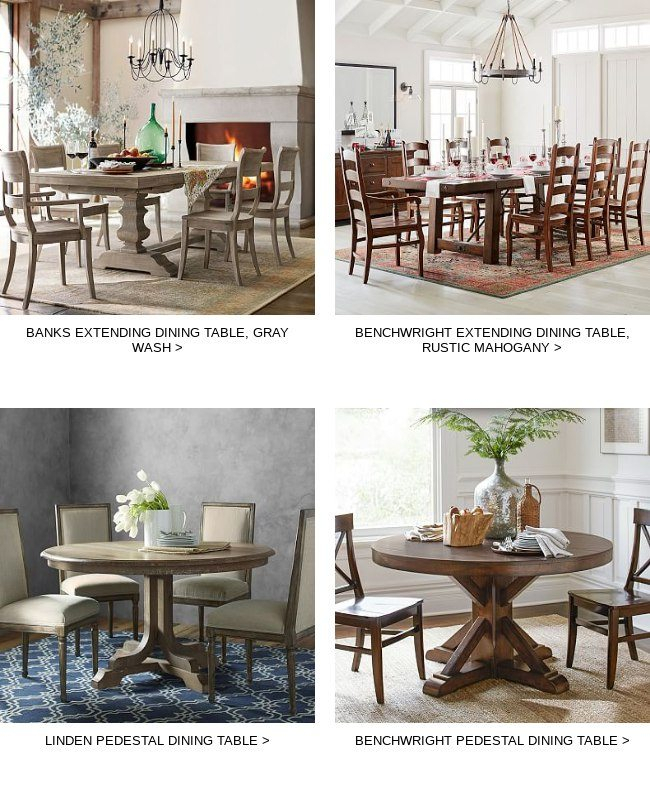 Complete Your Order) We Reserved These Great Items For You With Favorite Gray Wash Benchwright Pedestal Extending Dining Tables (#3 of 30)